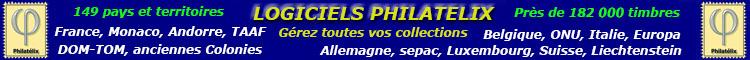 Logiciel Philatélix Gestion de collections de timbres
